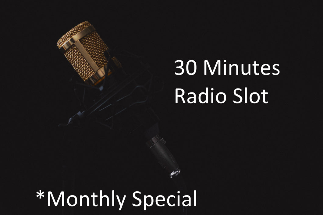 Weekday 30 Minutes Broadcast Monthly