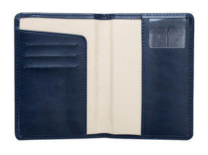 Mens Genuine Leather Passport Holder