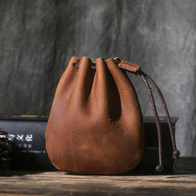 Leather Unisex Coin Purse