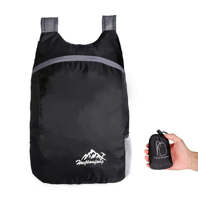 The Friday Water Resistant Lightweight Foldable Backpack