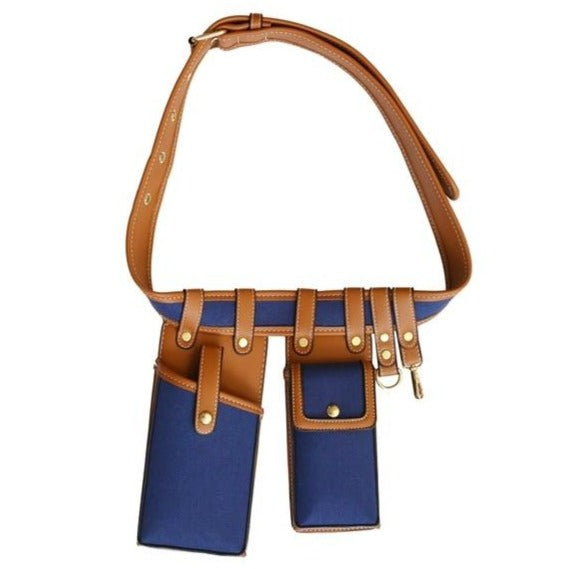 Womens Leather crossbody belt bag