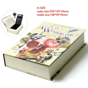 Book Safe with Metal Lock
