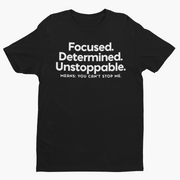 Focused Short-Sleeve Unisex T-Shirt-Melanin Apparel-African American Clothing-A Perfect Shirt