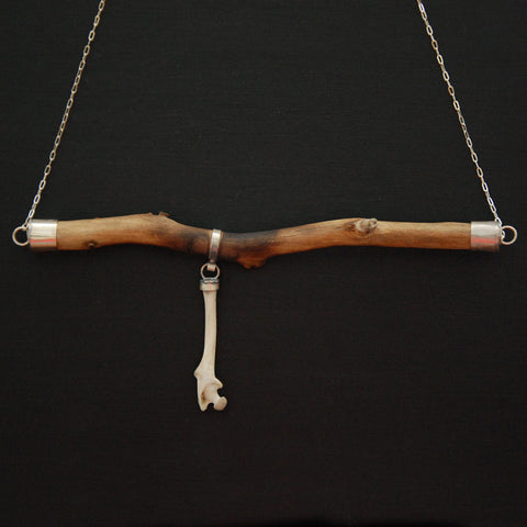 Wood + Bone Necklace
