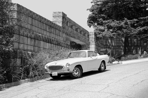 Ennis House And Volvo
