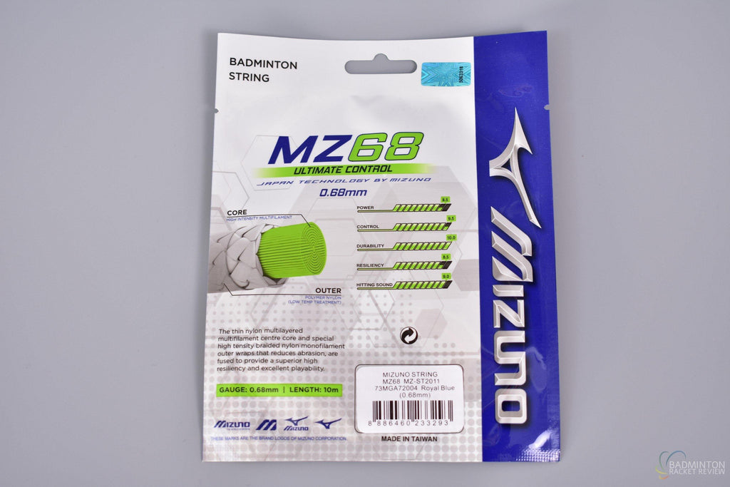 Mizuno MZ68 Ultimate Control badminton racket string - badminton racket review