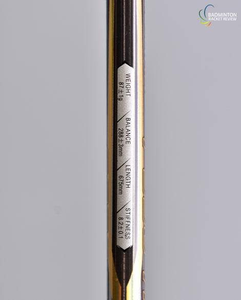 Kumpoo Power Control Nano P550TI Badminton racket - badminton racket review
