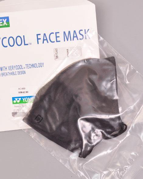 Yonex verycool face mask - badminton racket review