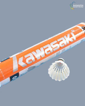 Kawasaki King Kong 700 shuttlecock - badminton racket review