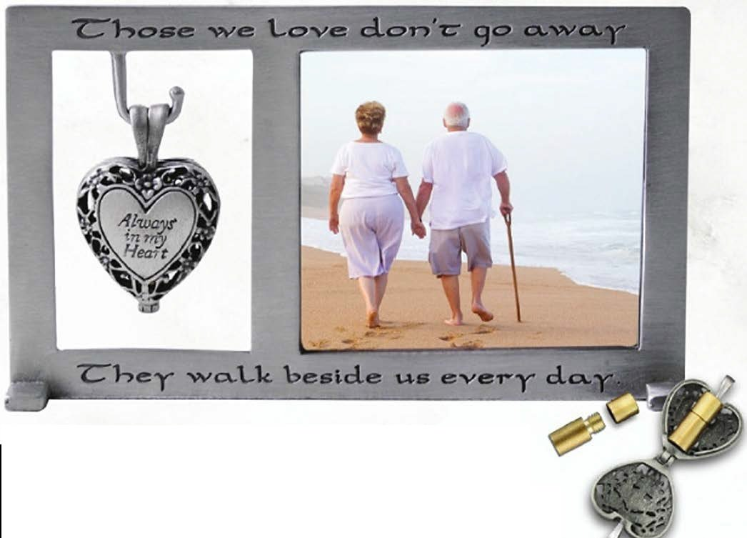 Remembrance Frame with Locket