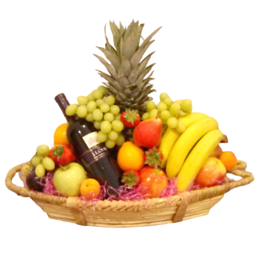 Large Assorted Fruit Basket