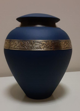 Load image into Gallery viewer, Anoka Urns - Shimmering Grey and Beautiful Blue