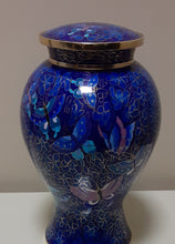 Load image into Gallery viewer, Cloisonne Opal Urn