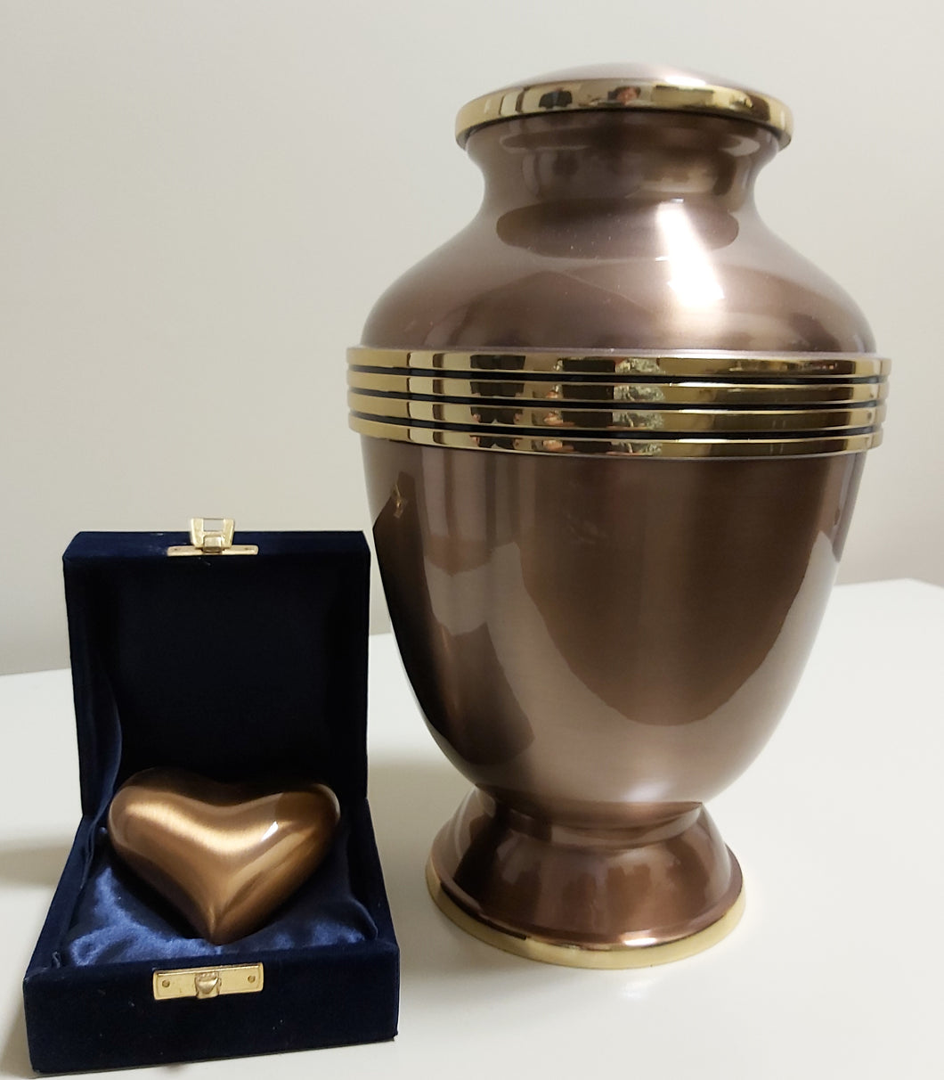 Elegant Copper Urn
