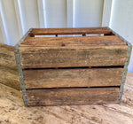 Load image into Gallery viewer, Vintage Crystal Springs Multi Bottle Crate w/Bottles