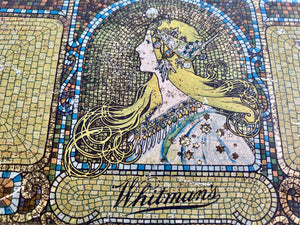 1923s Whitman's Sampler Candy Tin with Art by Mucha