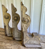 Load image into Gallery viewer, Antique Architectural Large Wooden Corbels