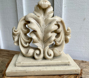 Vintage Solid Resin Book End/Door Stop