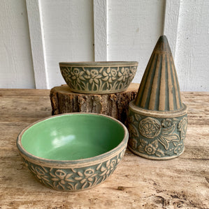 Vintage Early Redwing Union Stoneware Collection