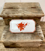 Load image into Gallery viewer, Herend Hungary Chinese Bouquet Rust Trinket Box