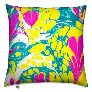 Marbled Cushion - Acid Love