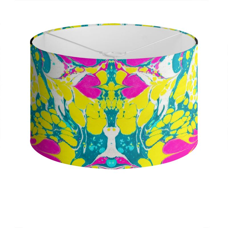 Marbled Lamp Shade - Acid Love