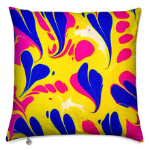 Load image into Gallery viewer, Marbled Cushion - Amor Azul