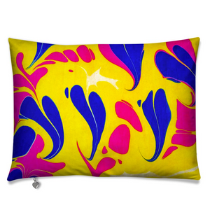 Marbled Cushion - Amor Azul