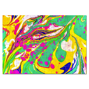 Marbled Jigsaw Puzzle - Liquid Dream