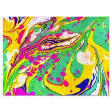 Load image into Gallery viewer, Marbled Jigsaw Puzzle - Liquid Dream