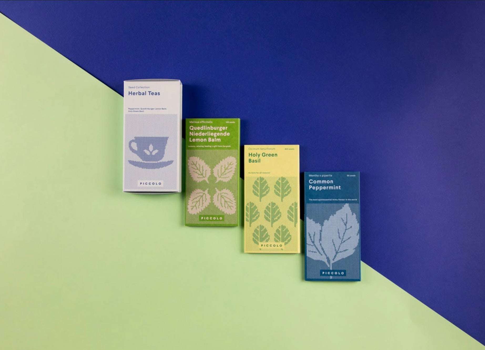 Piccolo Seeds Herbal Teas Collection
