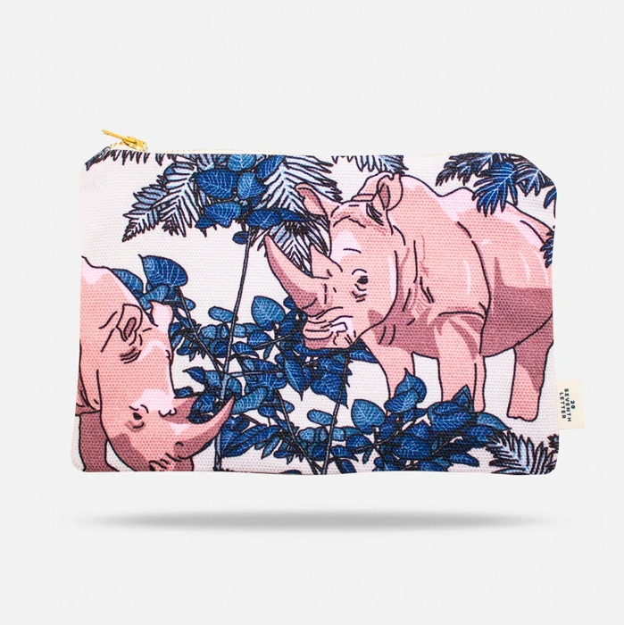 20 Seventh Letter Rhino Make Up Bag