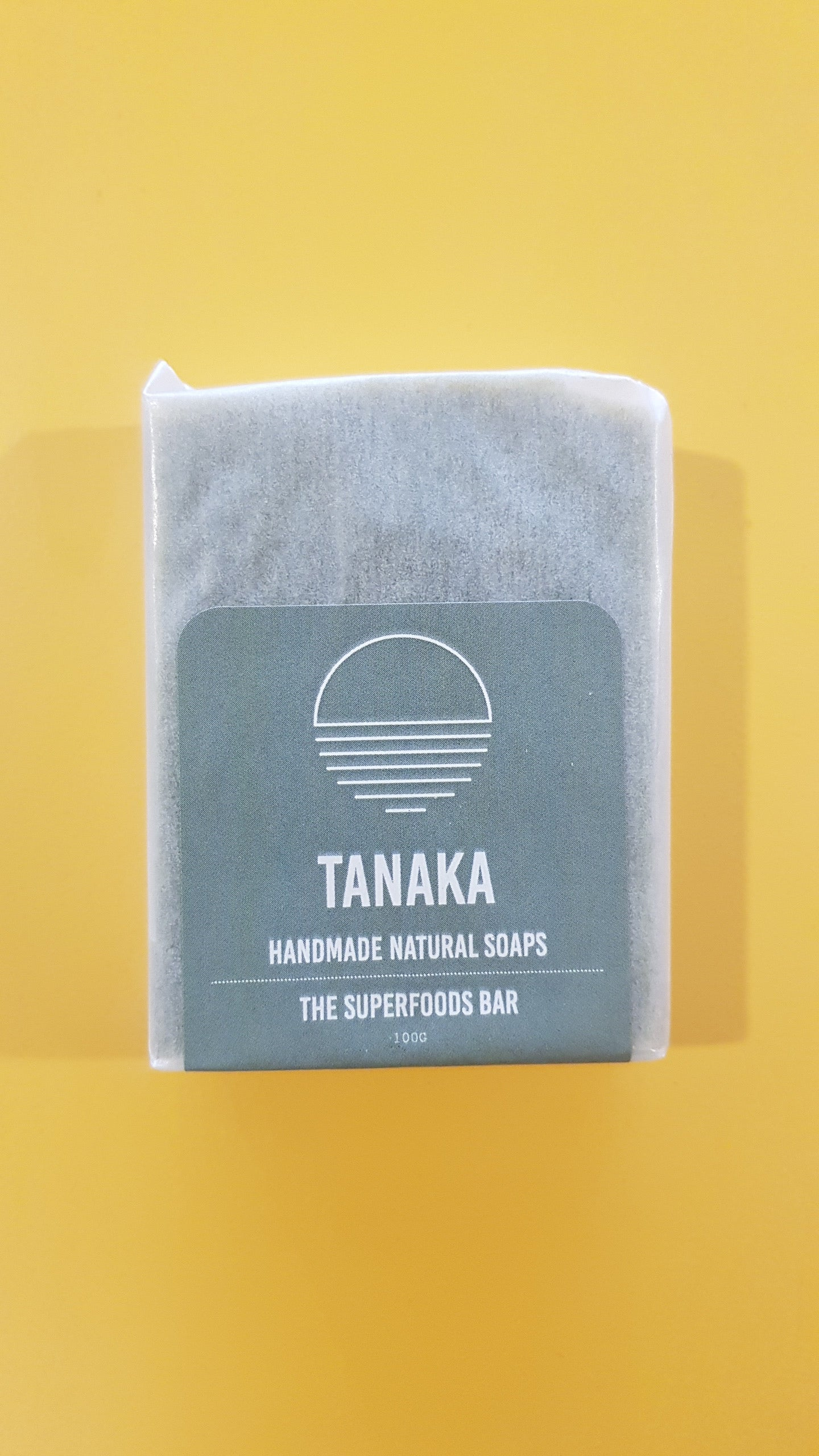 Tanaka Soap The Superfoods Bar