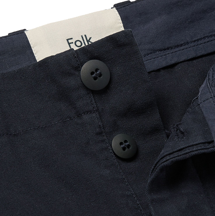 Folk Assembly Navy Pants Trousers