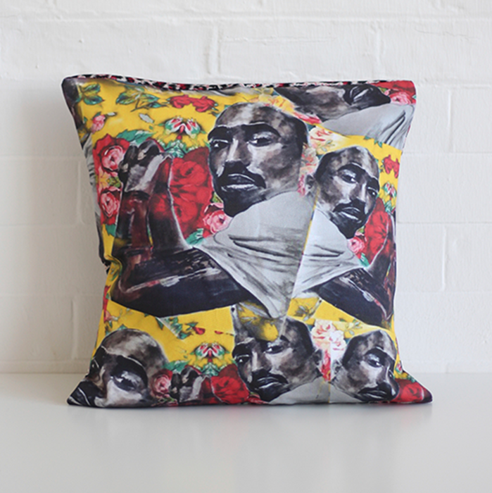Hip Hop Homes Tupac Cushion