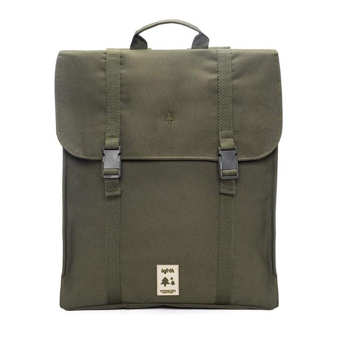 Lefrik Handy Olive Ecru Backpack Rucksack