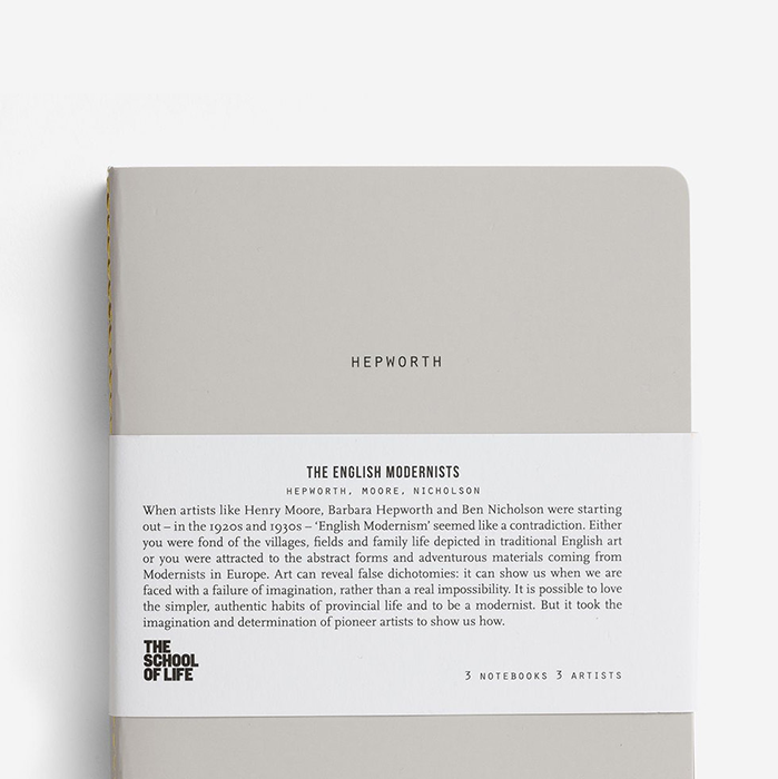 The School Of Life English Modernists Notebooks
