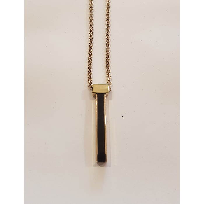 Susan O Long Black Bar Pendant