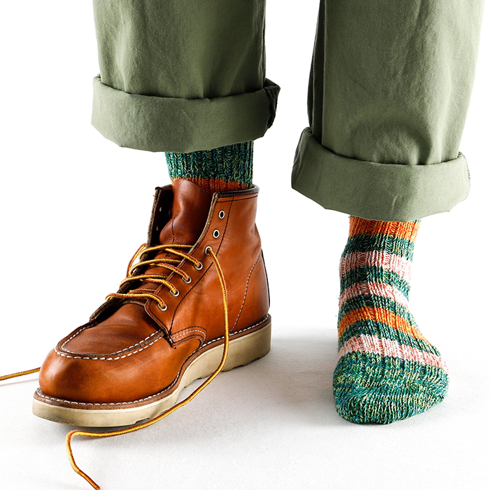 Thunders Love Brooklyn Green Recycled Socks