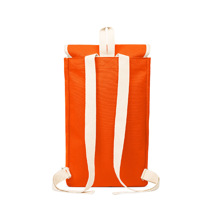 Ykra Orange Sailor Backpack