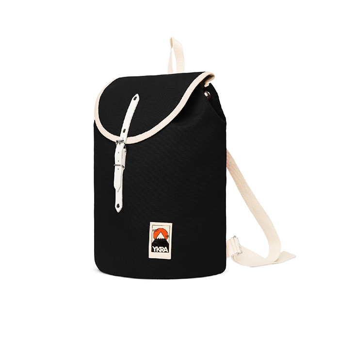 Ykra Black Sailor Backpack