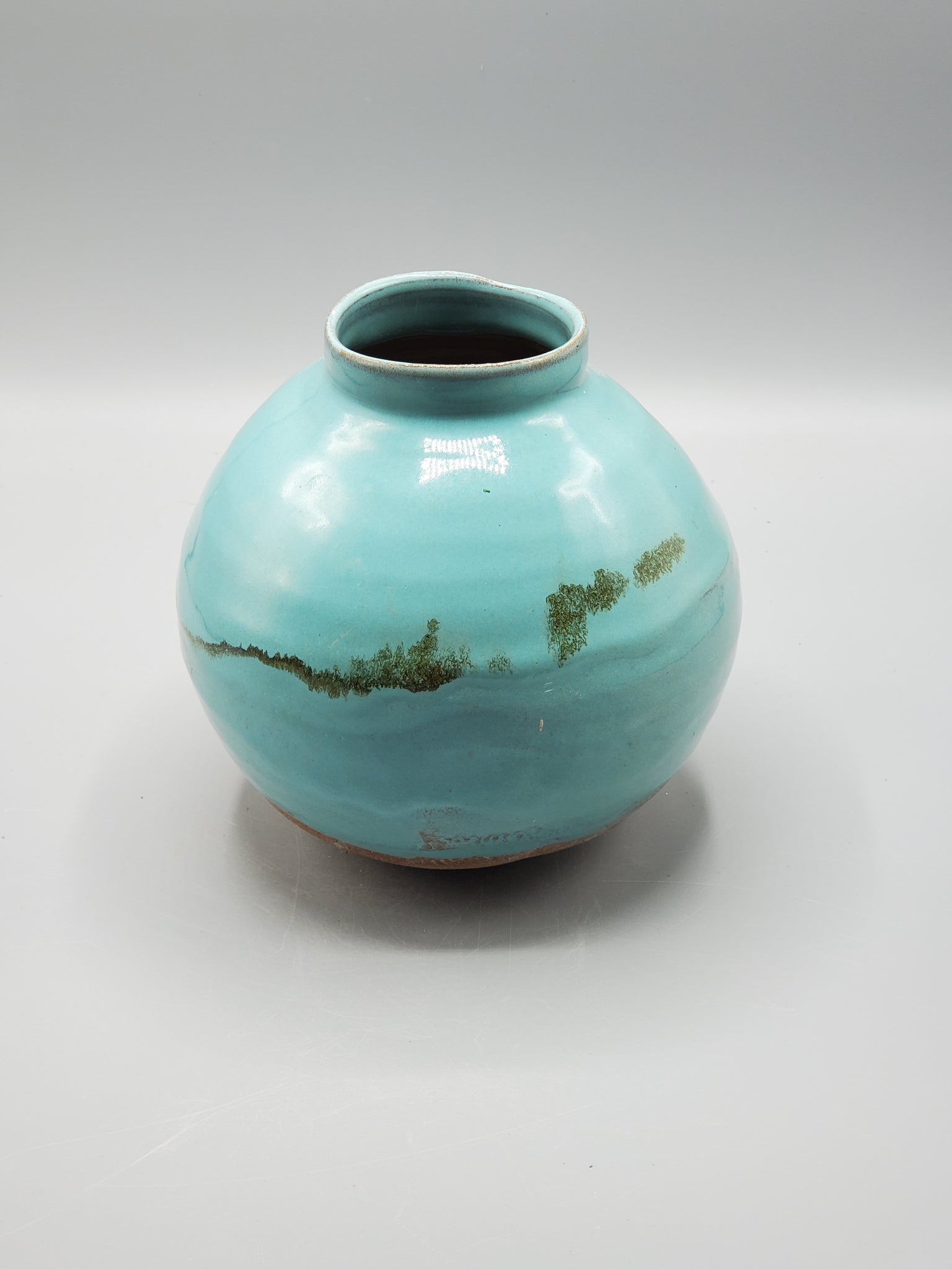 Moon Jar with OBX Region CLAY