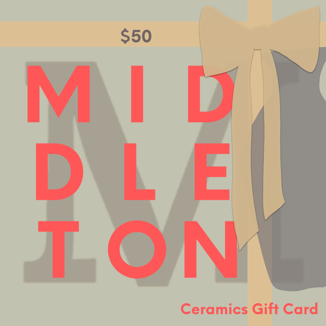 Michael Middleton Ceramics Gift Card