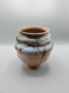 "Valor 7 x 6.5"" Moon Jar"