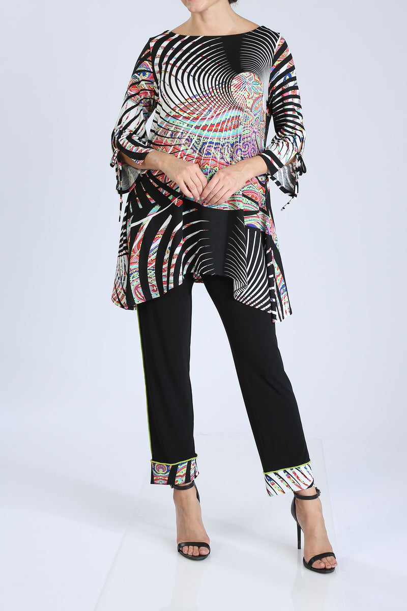Paisley Multi-Color Print Tunic