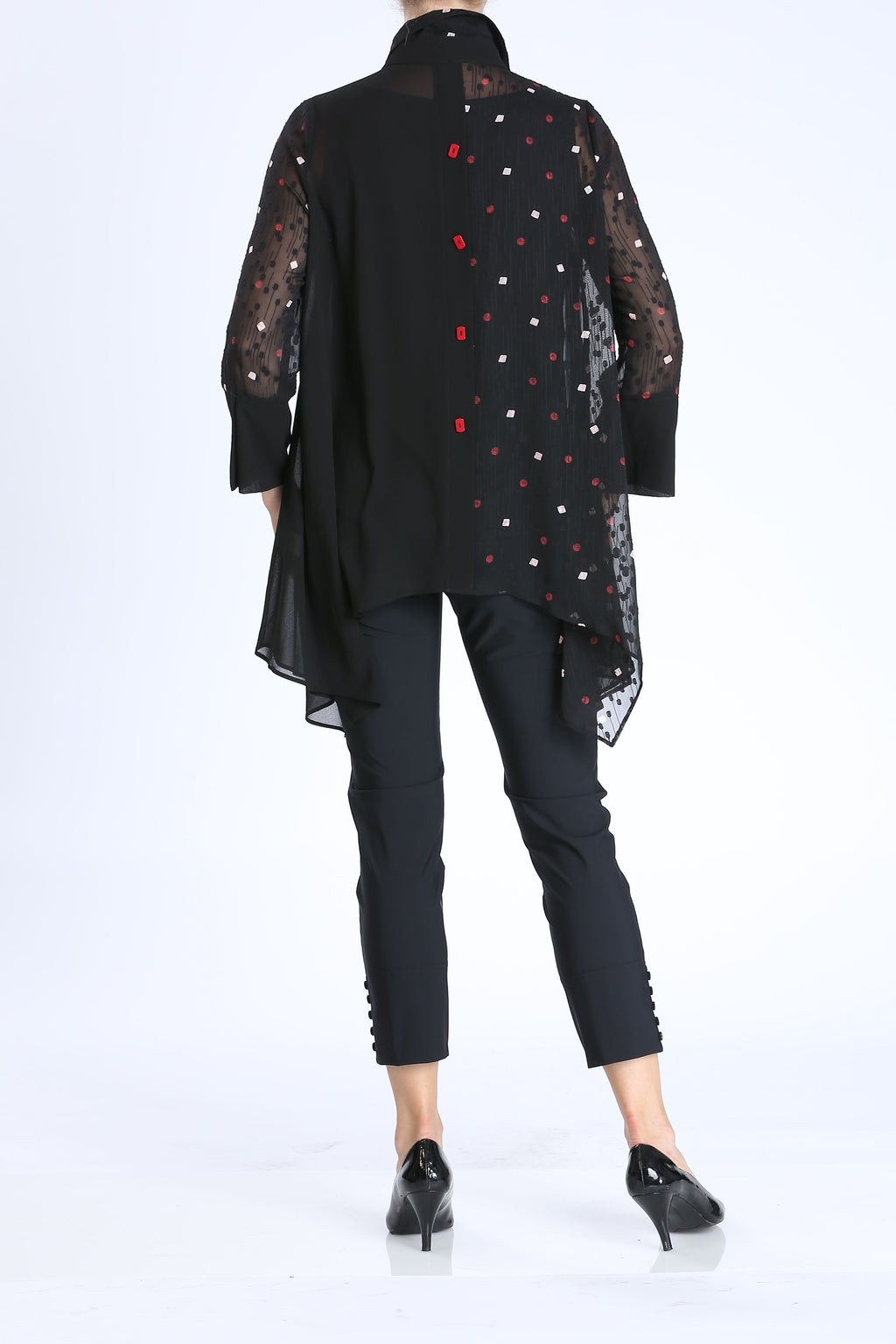 Plus Size Asymmetrical A-line Blouse