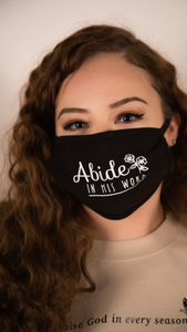 Abide in His Word Mask