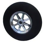 10X2, 8 Star Spindle Mount Wheel for 5/8
