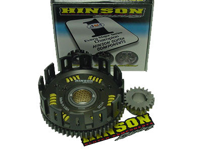 Hinson Racing Banshee Billet Clutch Basket w/ Straight Cut Gears