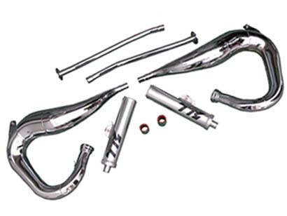 Chrome Toomey Exhaust Set, Banshee
